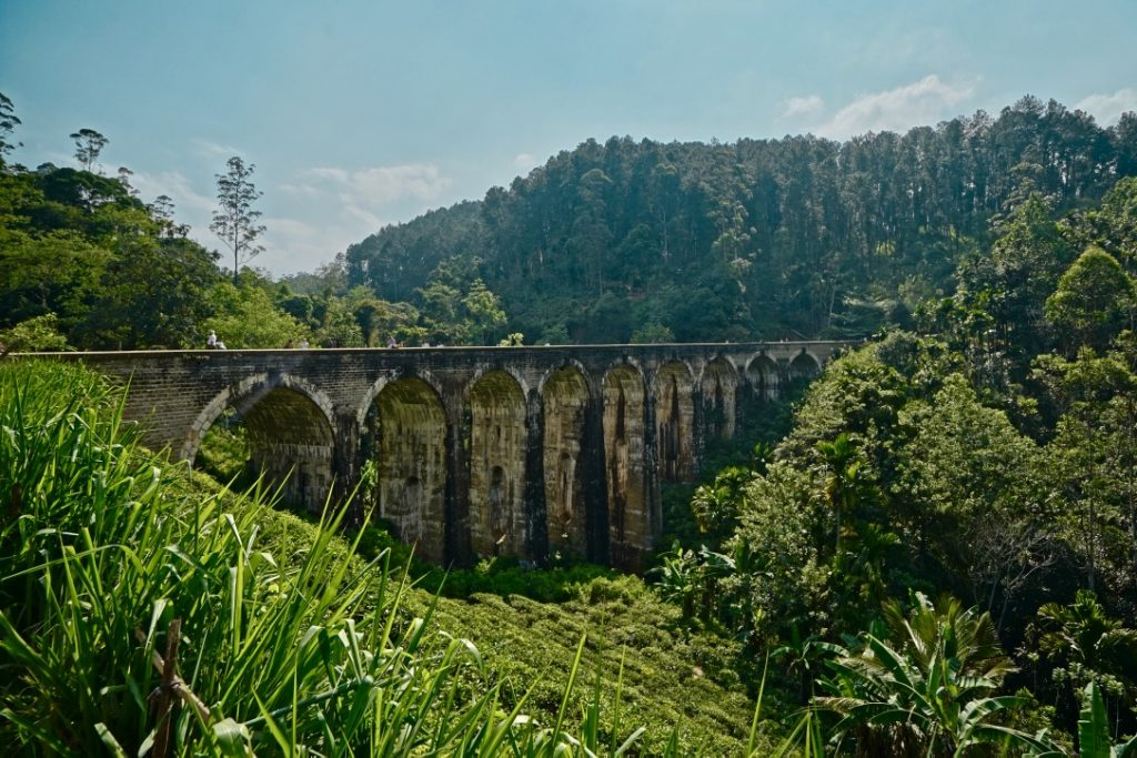 sri lanka nine arch bridge ella