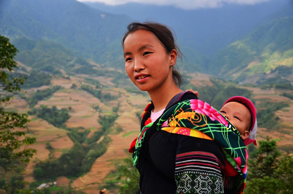 vietnamese lady in sapa