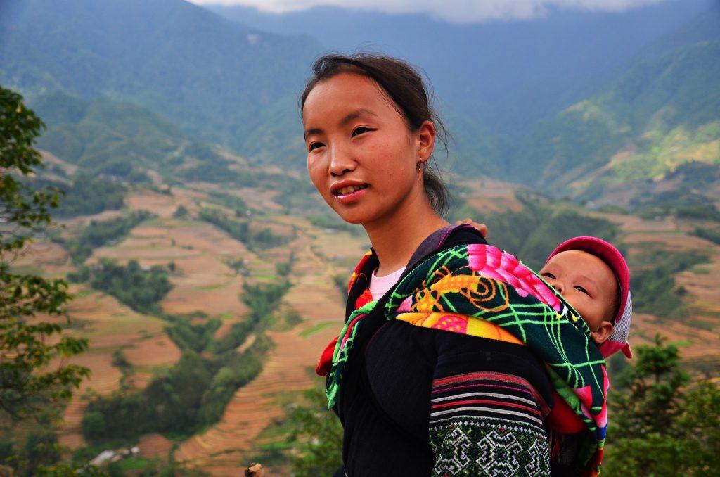 vietnamese lady in sapa
