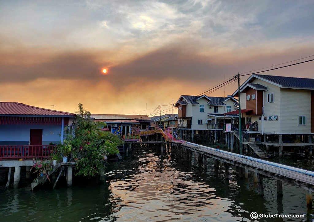 Kampong Ayer stilt village brunei