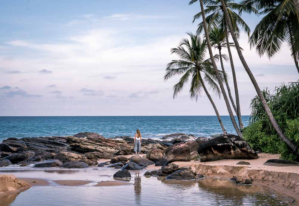 Tangalle beach one of the best beaches in sri lanka