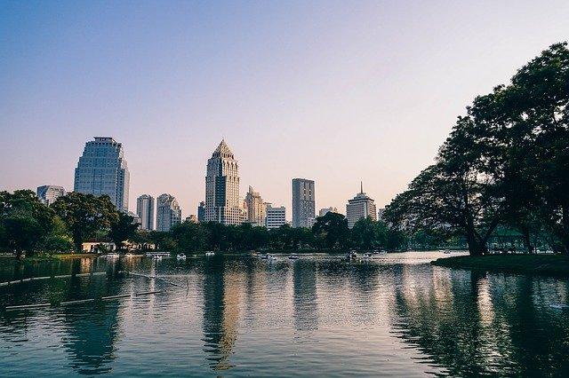 Thailand Lumphini park