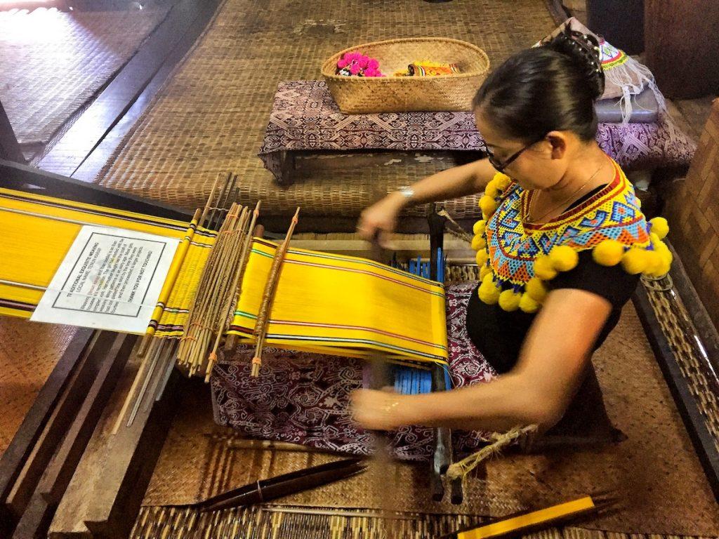 sarawak cultural village in borneo