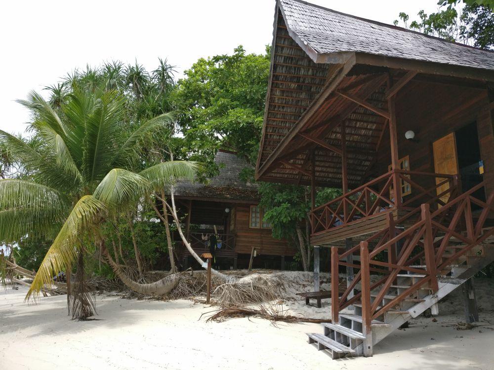 bungalow Lankayan island