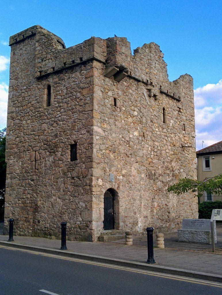 dalkey castle in Dublin