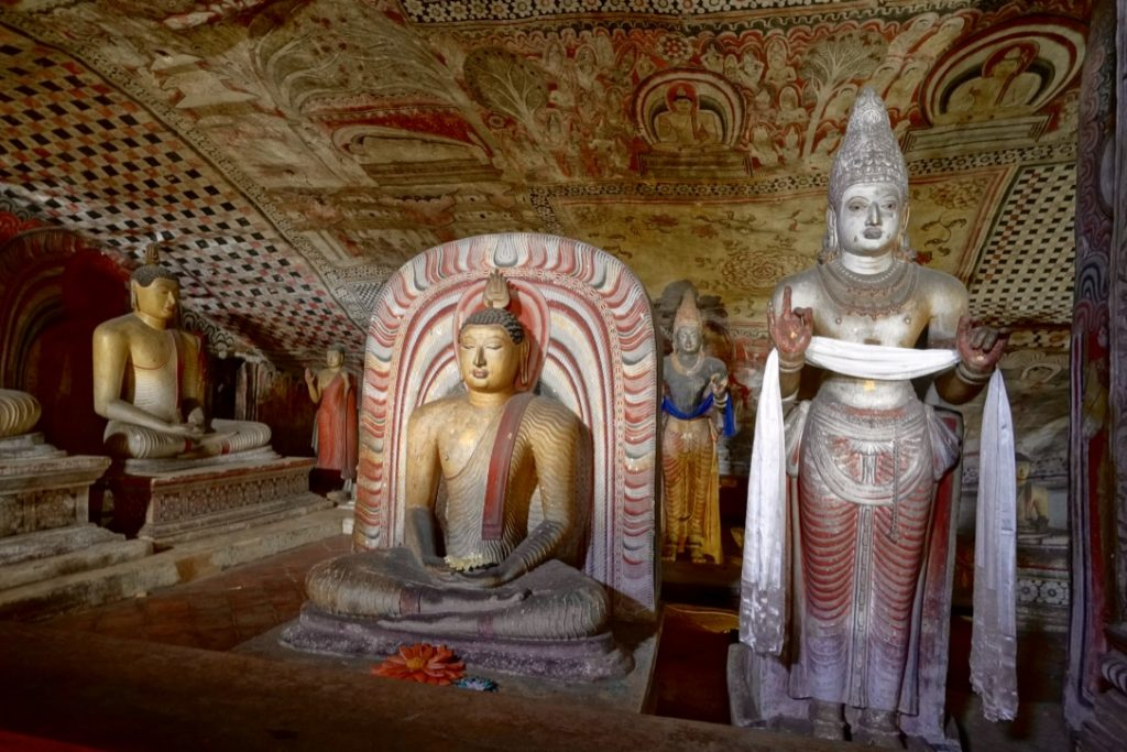 Visiting dambulla cave one of the best things to do in Sri Lanka