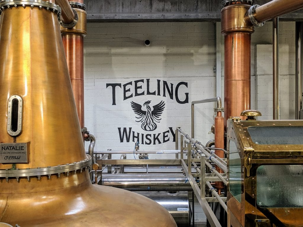 dublin teeling whiskey distillery tour - a must do with 2 days in dublin