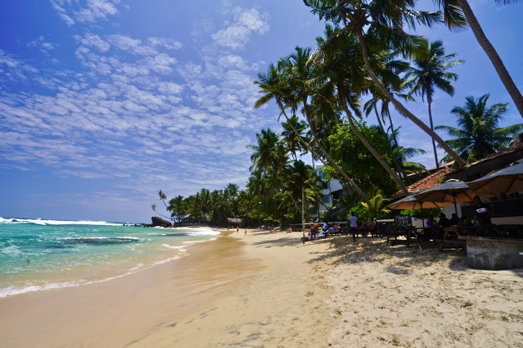 dalawella beach in sri lanka