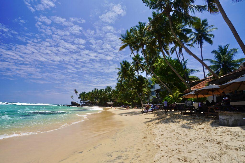 dalawella beach in sri lanka