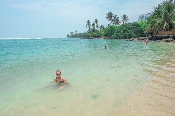 polhena beautiful beach in sri lanka