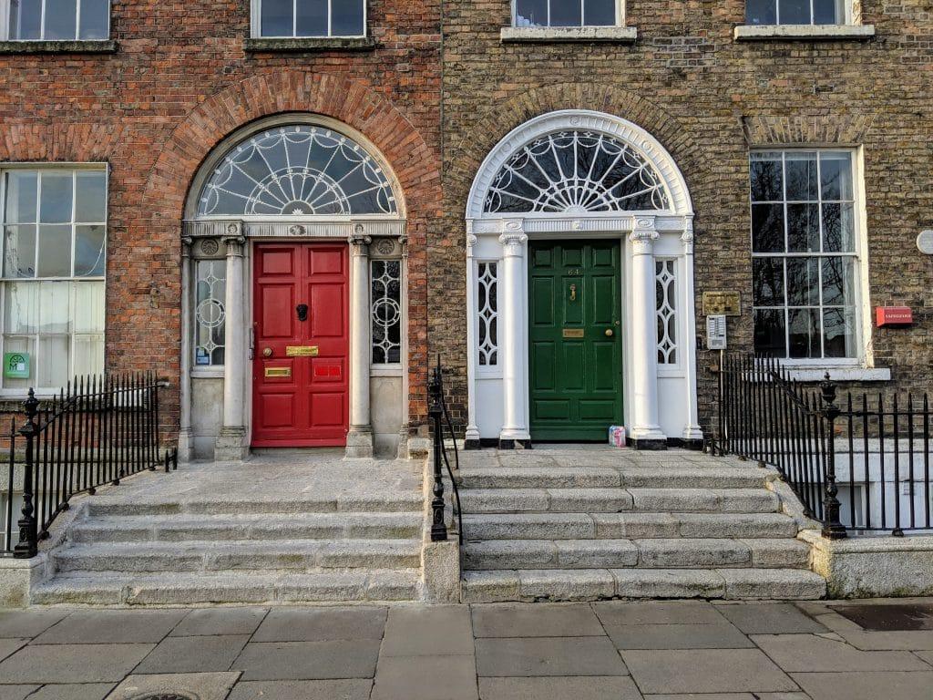 pretty buildings in Dublin