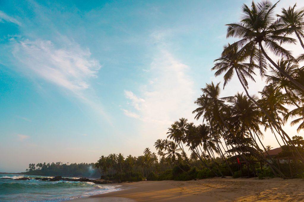 sri lanka Silent Beach Tangalle Sri Lanka