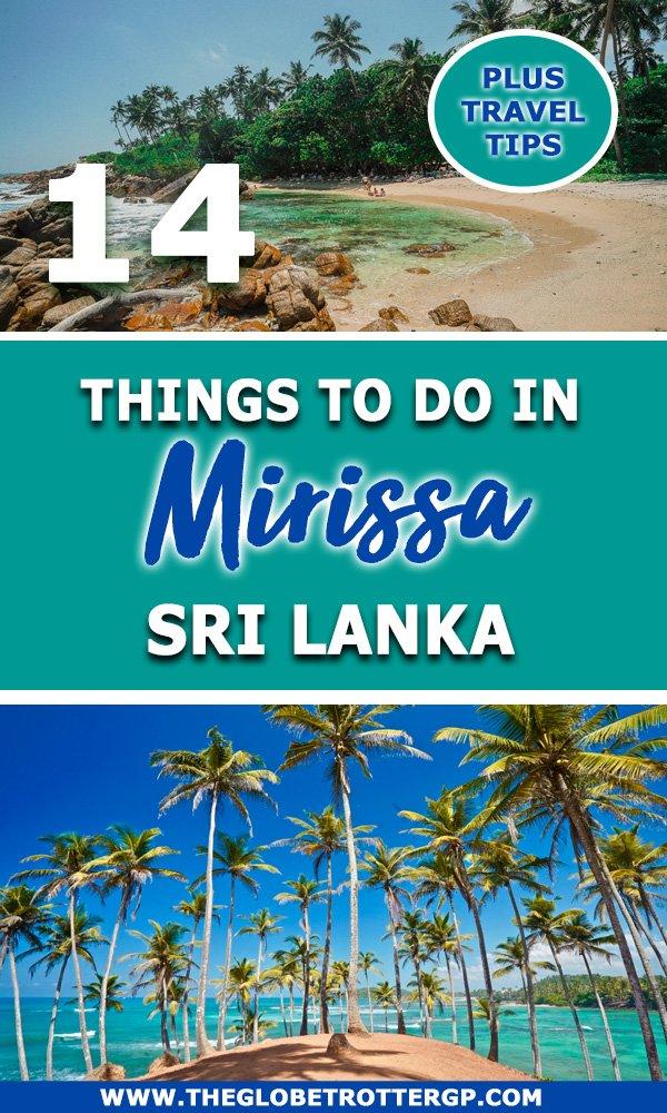 Fun things to do in mirissa sri lanka