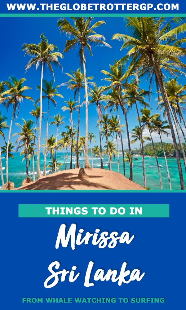 Great things to do in mirissa sri lanka