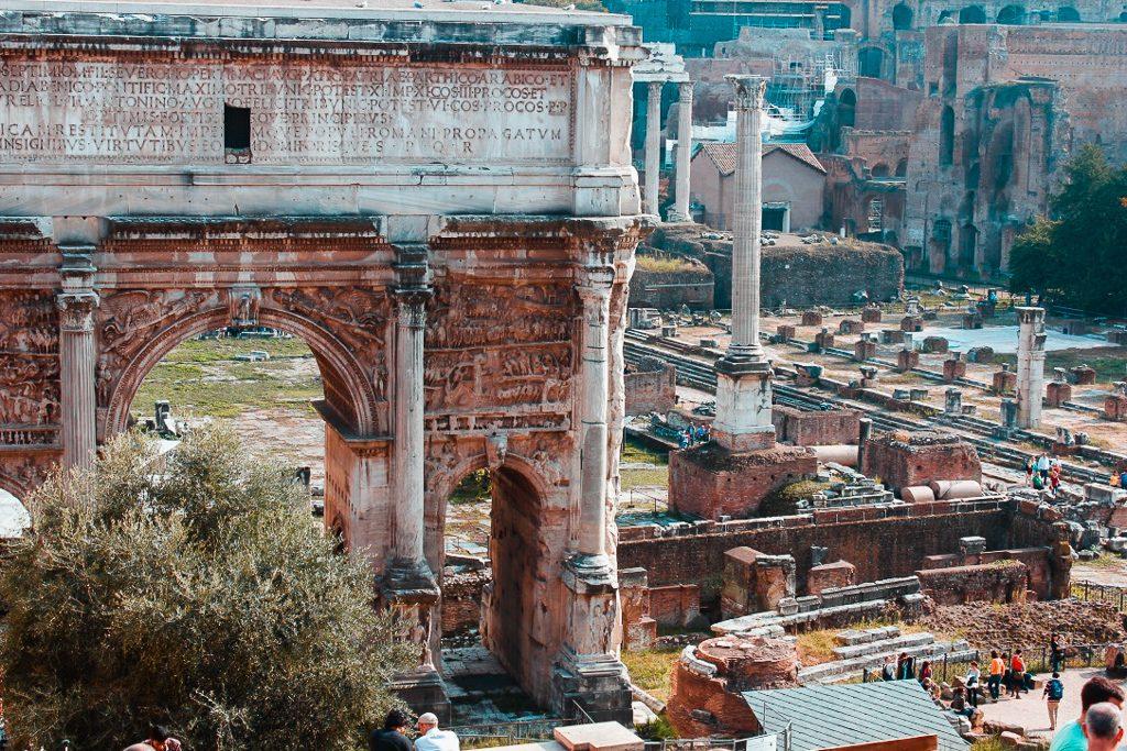 Forum Palatine Hill rome