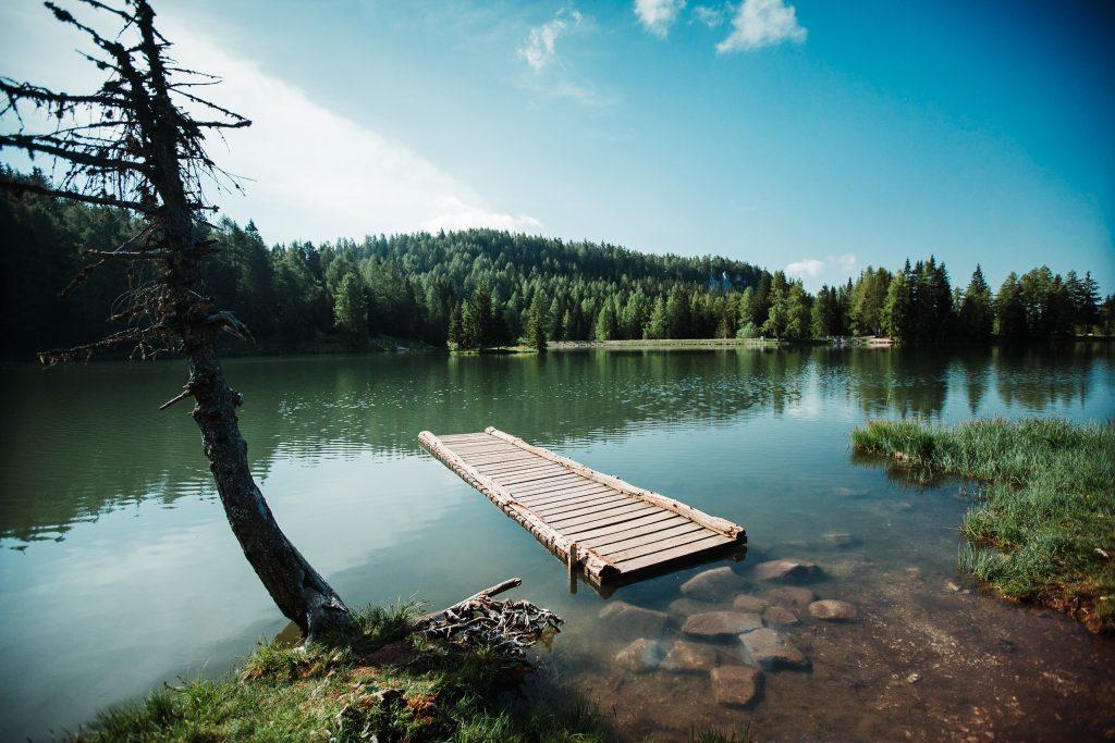 Trentino lake by Philipp ammon