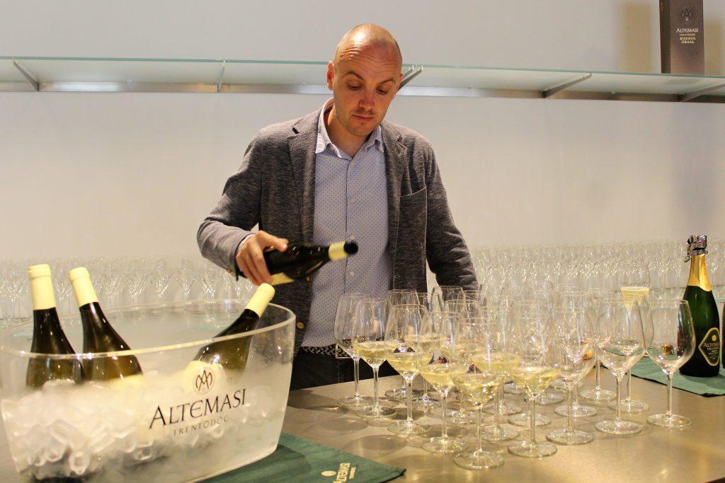 Wine tasting at Cavit, Trentino