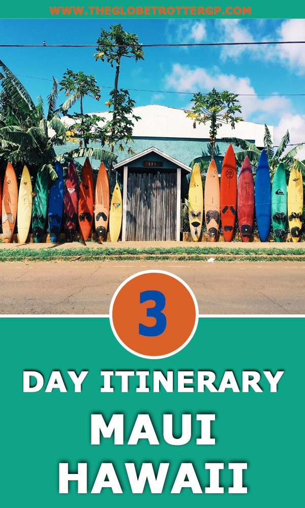 maui itinerary hawaii