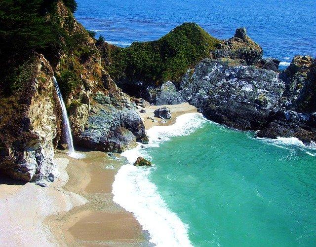 Big Sur beach usa bucket list