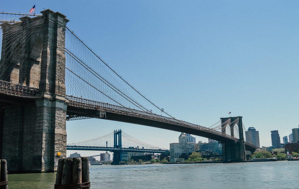 Brooklyn bridge - on most american bucket lists