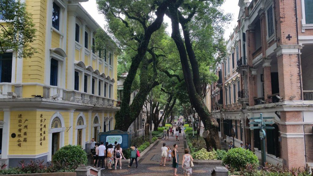 Shamian street guangzhou