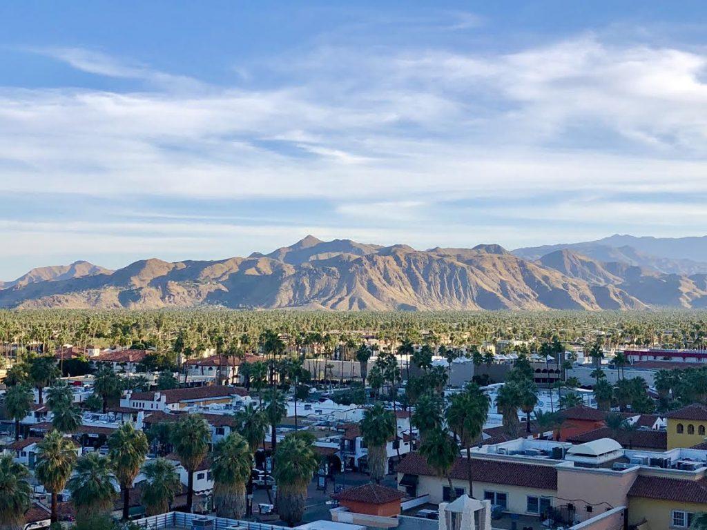 View of Palm Springs photo credit Carol Perehudoff