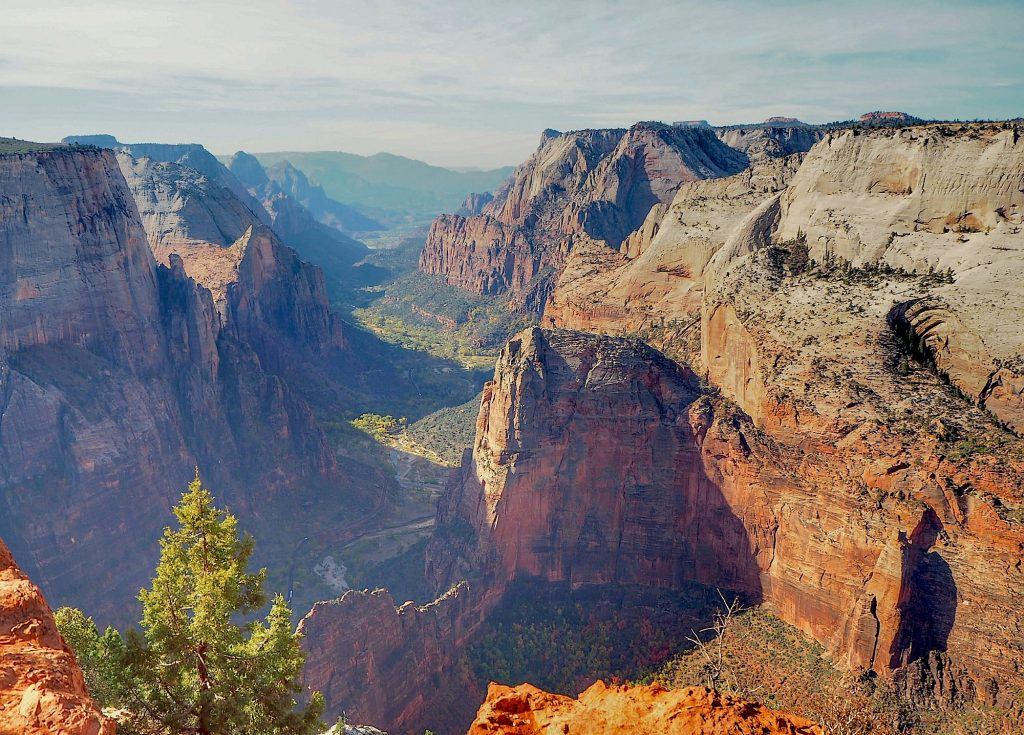 zion national park in the usa