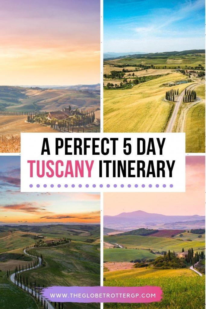 a 5 day tuscany itinerary 2
