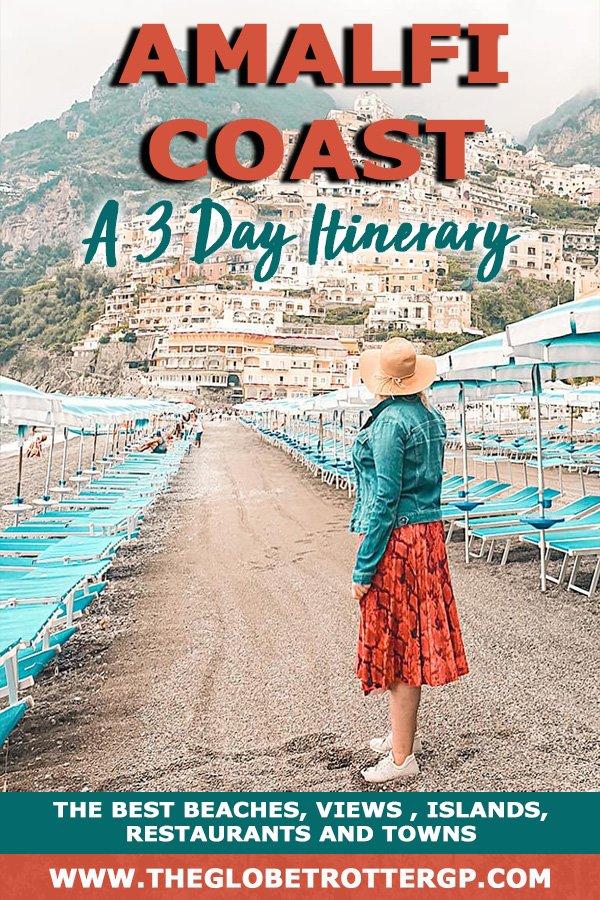 a perfect 3 day amalfi coast itinerary