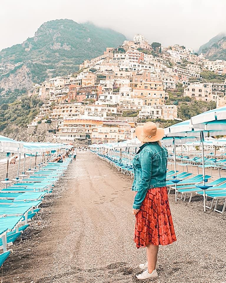 amalfi coast positano beach