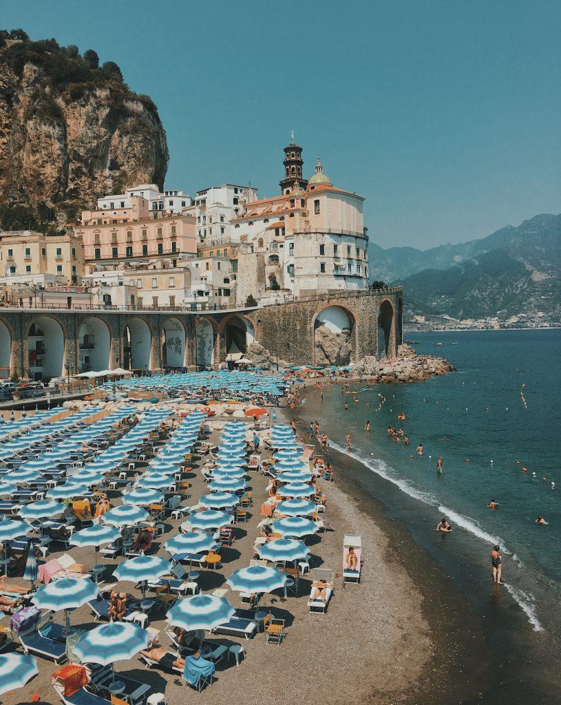 visit antrani beach on your 3 day amalfi coast itinerary