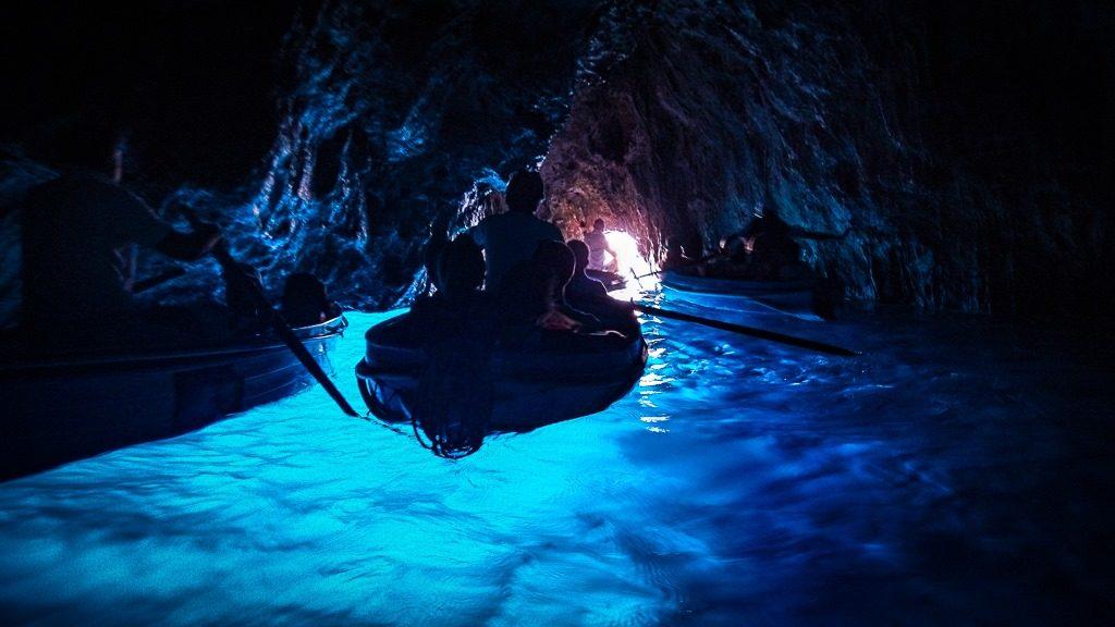 capri amalfi coast blue grotto