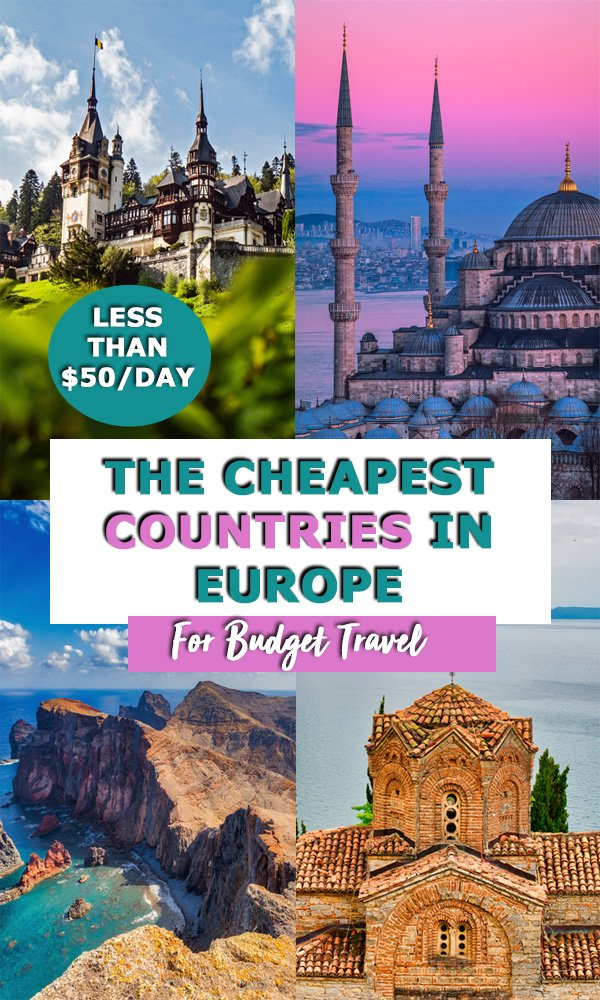 cheapest countries in europe pin?