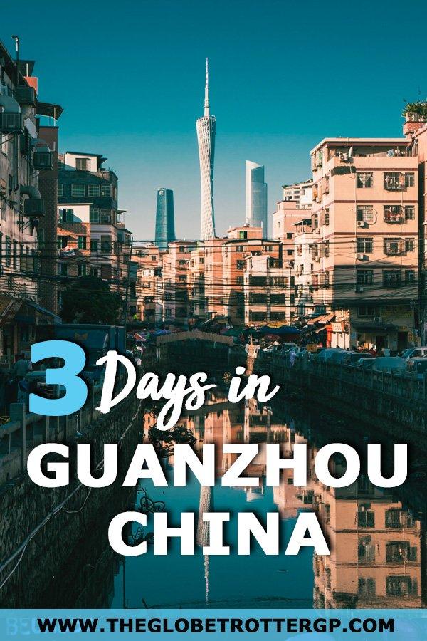guangzhou itinerary
