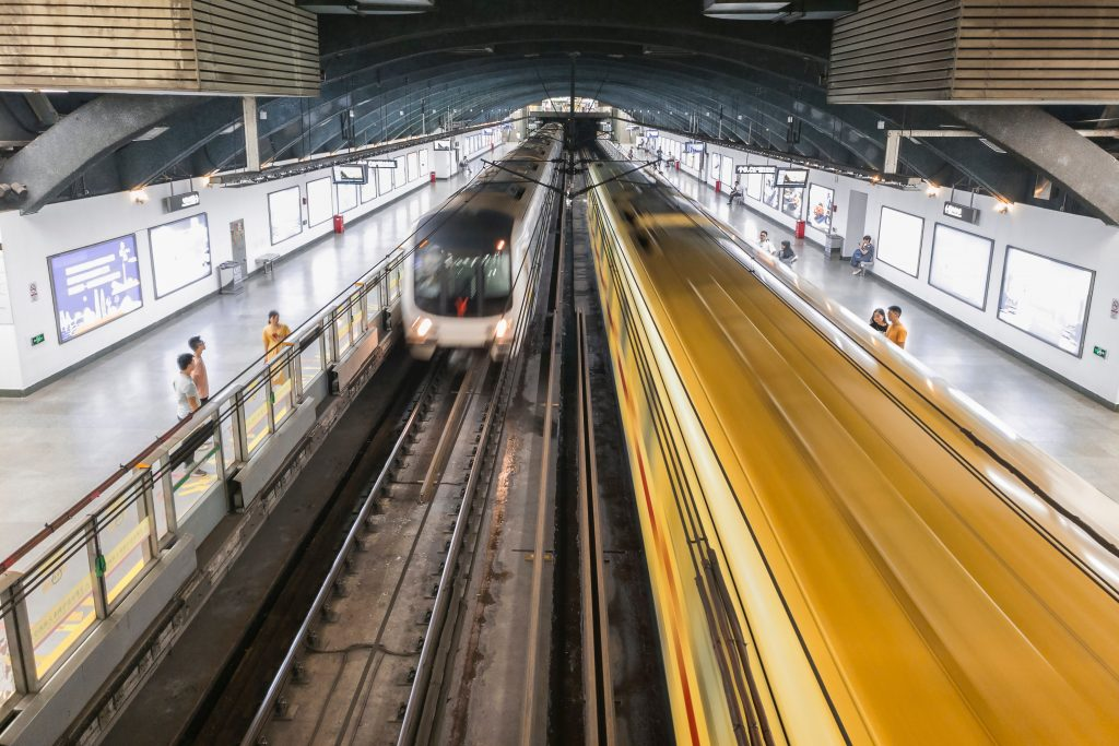 metro station in guangzhou