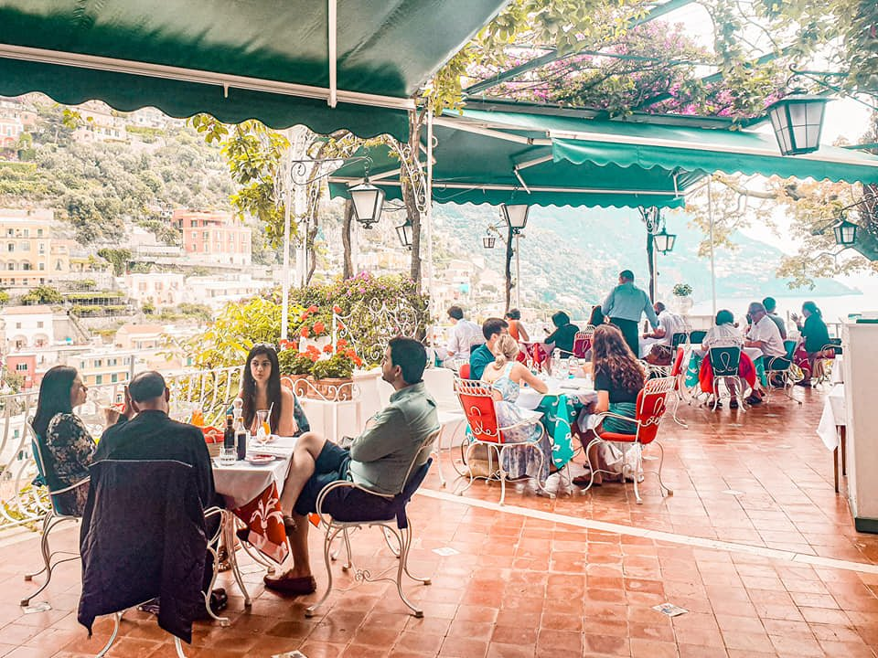 hotel podeison positano restaurant amalfi coast