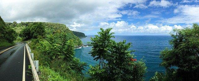 road to hana maui hawaii usa