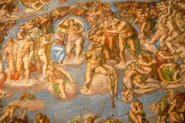 sistine chapel michelangelo painting vatican museum rome