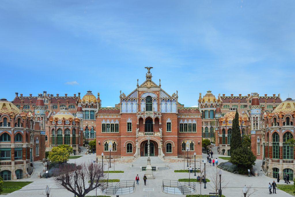 Barcelona Spain Recinte Modernista Sant Pau by Two Find a Way