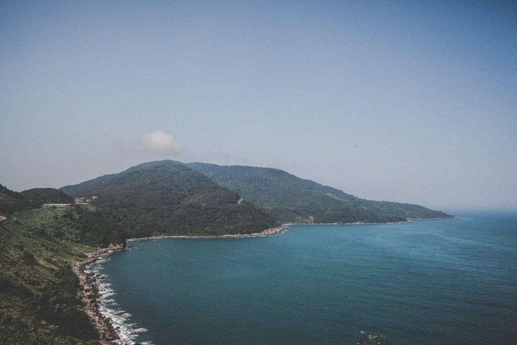 Da nang Vietnam coastline
