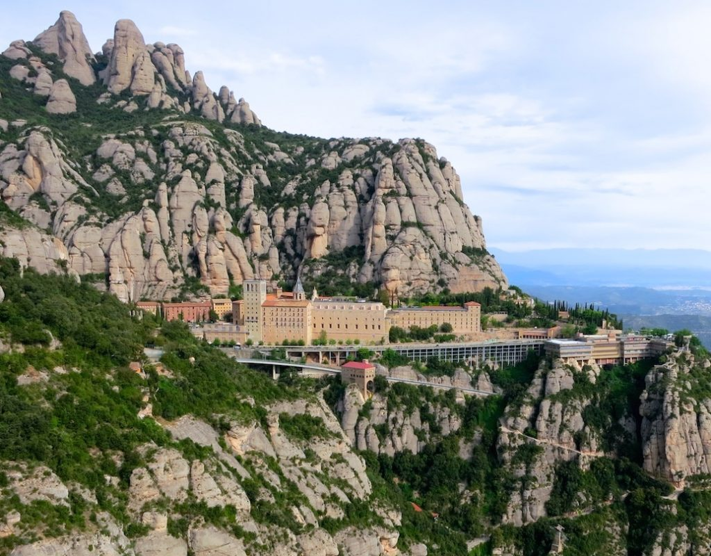 Spain Montserrat Monastery
