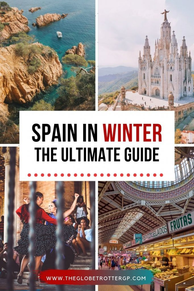 Spain in winter - the ultimate guide packed full of the best places to visit and the top things to do in Spain in wintertime. Includes information about christmas in Spain, New Years and Carnival