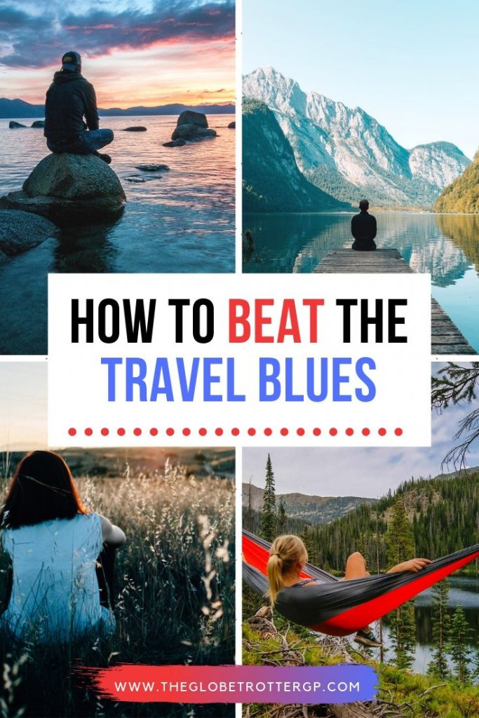 How to avoid the travel blues when you are on vacation. Avoid gettign travel depression with these top tips to help your mental health whilst traveling