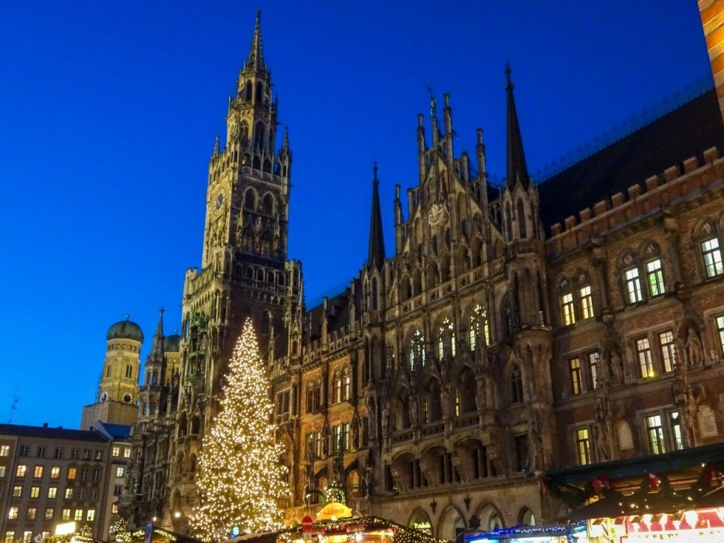 Germany Munich (Marientplatz)