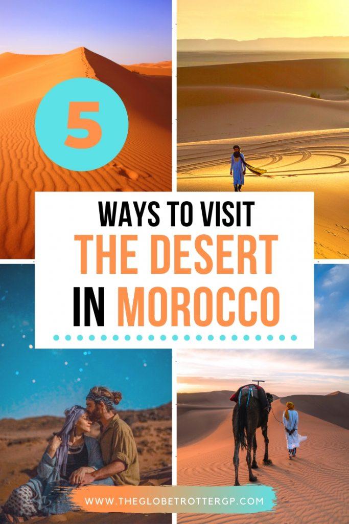 5 ways to viist the desert in morocco