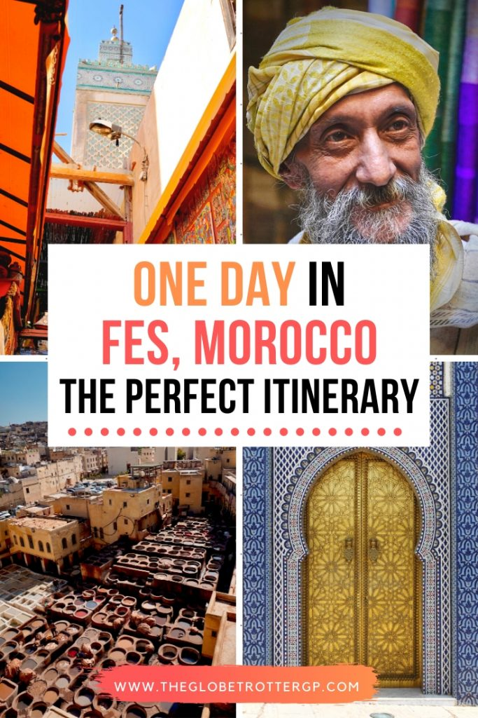 One day in Fes, morocco