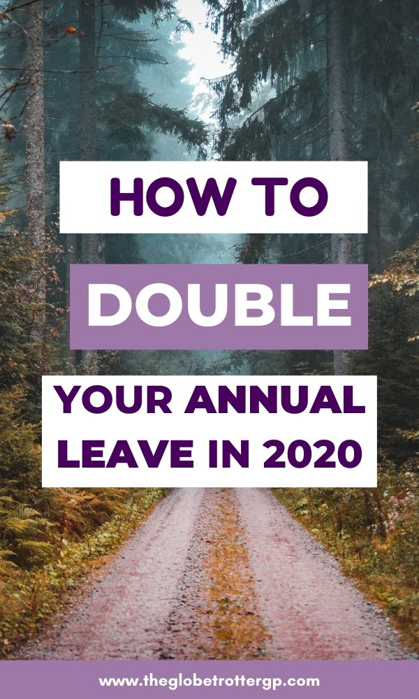 double your annual leave pin 2