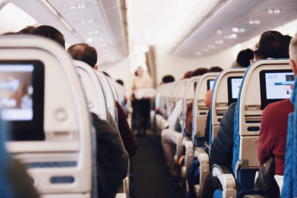 picture of inside a plane